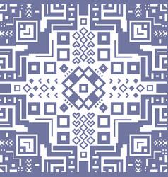 decorative geometric ethnic pattern ornament vector image