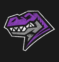 dinosaur t-rex vector image