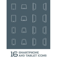 Abstract Minimal Style Modern Mobile Smartphone vector image