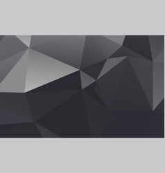abstract plastic geometric gray background vector image