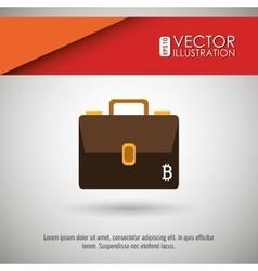 Bit coins design vector