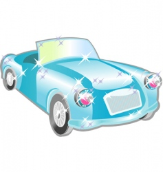 car cartoon vector image
