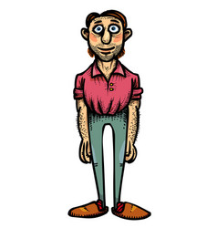 cartoon image of father vector image