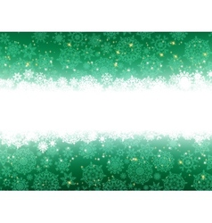 Christmas stars green stripes EPS 8 vector image
