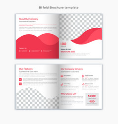 corporate business brochure flyer book cover vector image