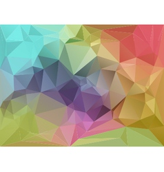 Fragmented Background vector image