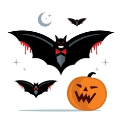 Halloween Concept Cartoon vector image
