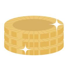 Money coins file vector
