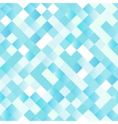 Seamless background with shiny blue squares vector image