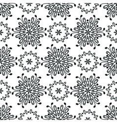 seamless pattern abstract floral vector image