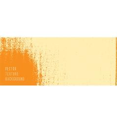 orange texture background vector image