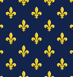 Yellow Emblem Pattern vector image vector image