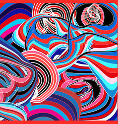Bright graphics multicolored abstraction vector