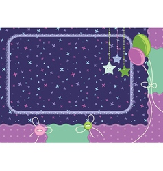 Celebration greeting card vector