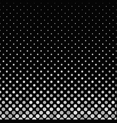 Grey abstract circle pattern background - graphic vector