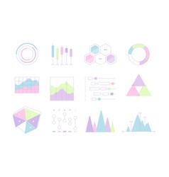 infographic bundles ui elements graphics diagrams vector image