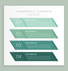 Infographic business banners template vector