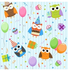 party owls vector image