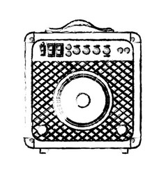 Speaker sound device icon vector