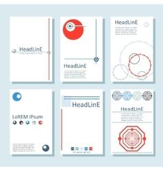 Brochures7 vector image