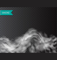 Smoke fog or cloud isolated transparentl effect vector