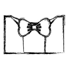 suit with tie icon vector image