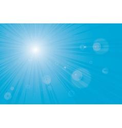 Sunburst sun flares vector