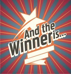 The winner vector