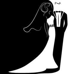 wedding 2 vector image vector image