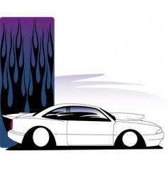 avenger car vector image vector image