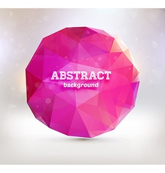 Abstract Triangular Design vector image