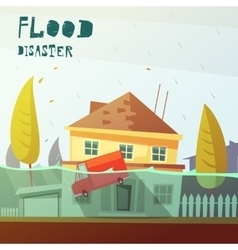 Flood Disaster vector