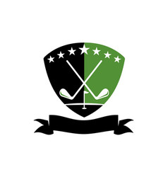 golf club academy vector image