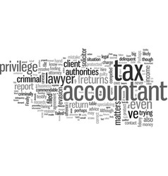 Income tax returns your accountant should not file vector