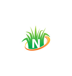 Lawn care center initial n vector