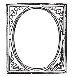 Picture-frame structure for admitting inclosing vector