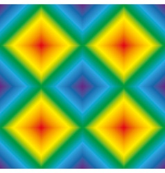Rainbow rhombus seamless texture vector