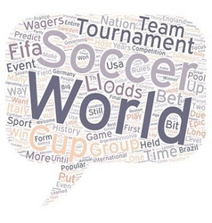 Soccer 102 text background wordcloud concept vector image