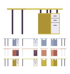 Table interior set vector