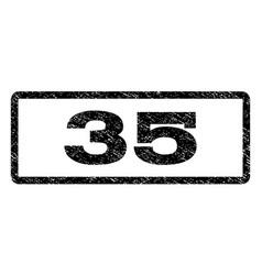 35 watermark stamp vector