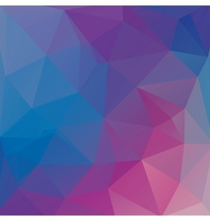 abstract polygon background with geometric crystal vector image
