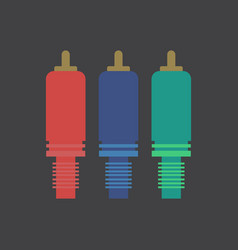 Component cable vector