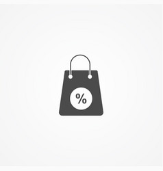 discount icon sign symbol vector image
