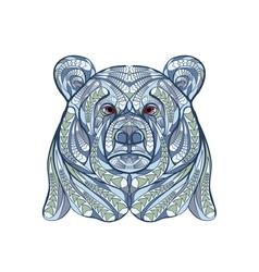 ethnic bear vector image