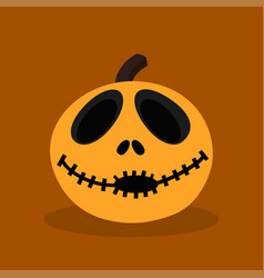 Halloween happy pumpkin vector