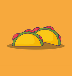Mexican food design vector