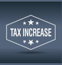 Tax increase vector