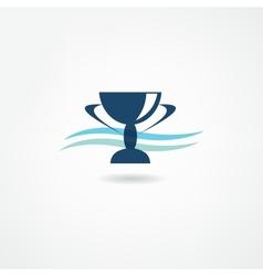 champion icon vector image vector image