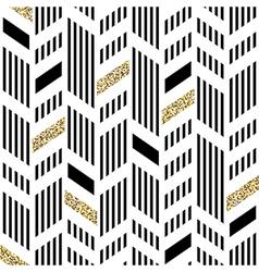 Seamless chevron pattern art deco abstract vector