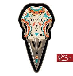 Raven Skull vector image